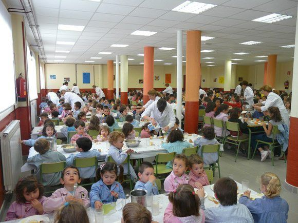 Los niños celiacos en los comedores escolares