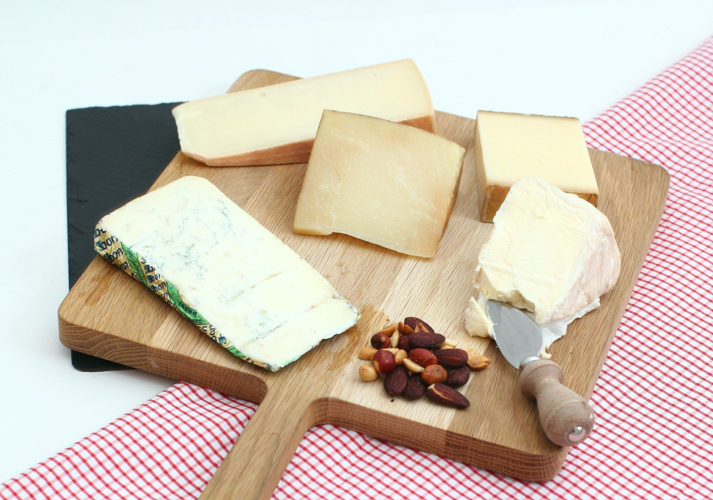 Infografía con los distintos tipos de quesos
