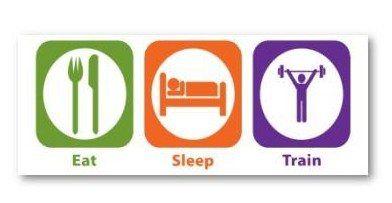 comer dormir ejercicio