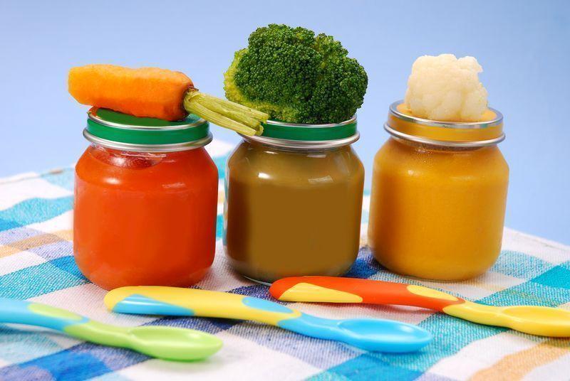 papillas de verduras para bebes