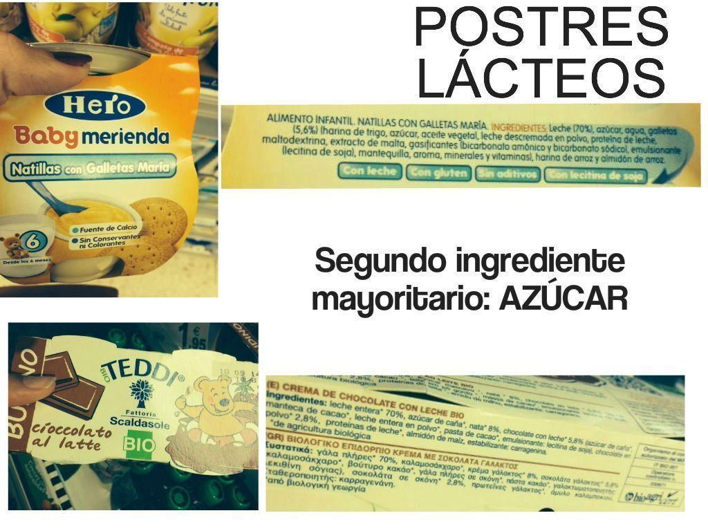 POSTRES LÁCTEOS INFANTILES