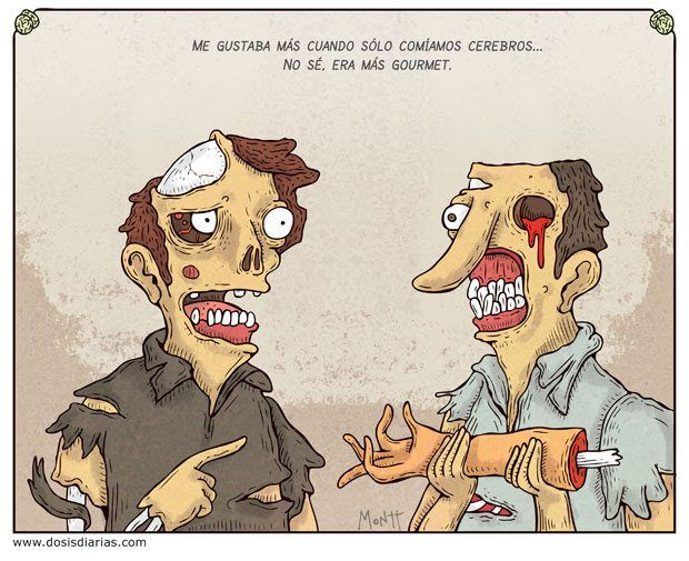 chiste zombies