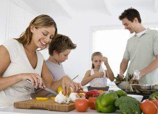 cocina con niños