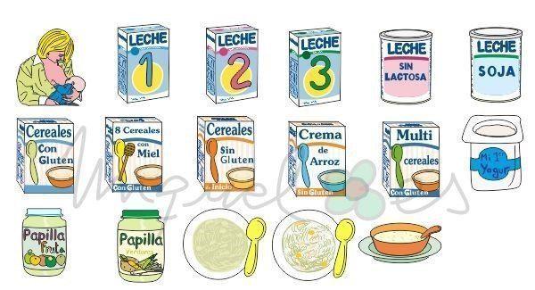 Alimentos infantiles industriales