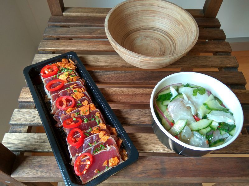 Ceviche y Tataki