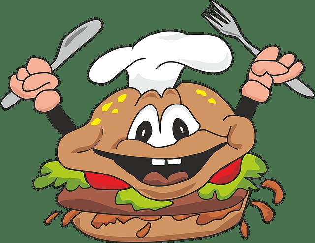 comida basura en niños