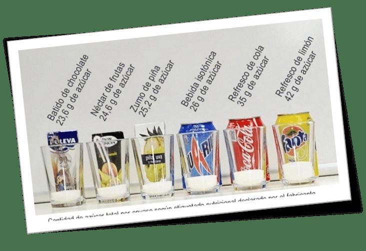 azucar en refrescos