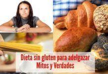 dieta sin gluten adelgazar