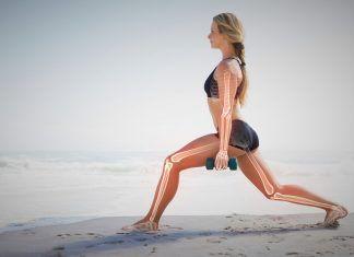Chica haciendo ejercicio