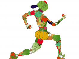Alimentación vegetariana en atletas