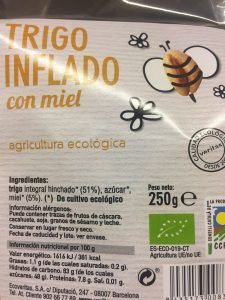 Cereales ecológicos