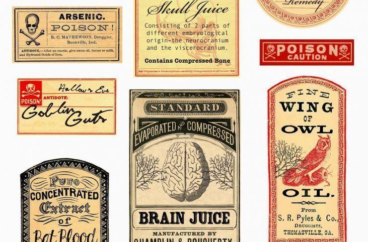 etiquetas terroríficas