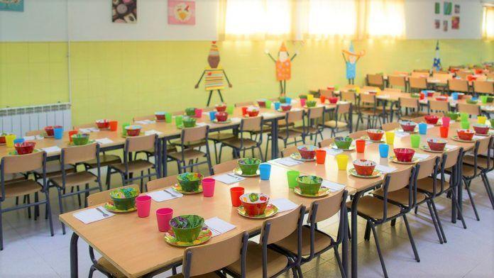 nutrición en comedores escolares