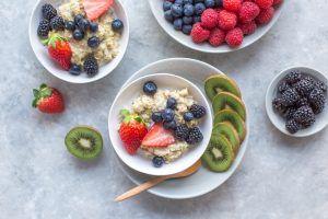 desayuno con kiwi