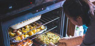 Platos cocinados en el horno