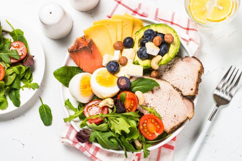 La información encima de dieta del metabolismo