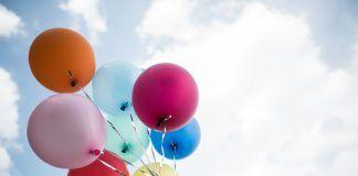 globos de colores